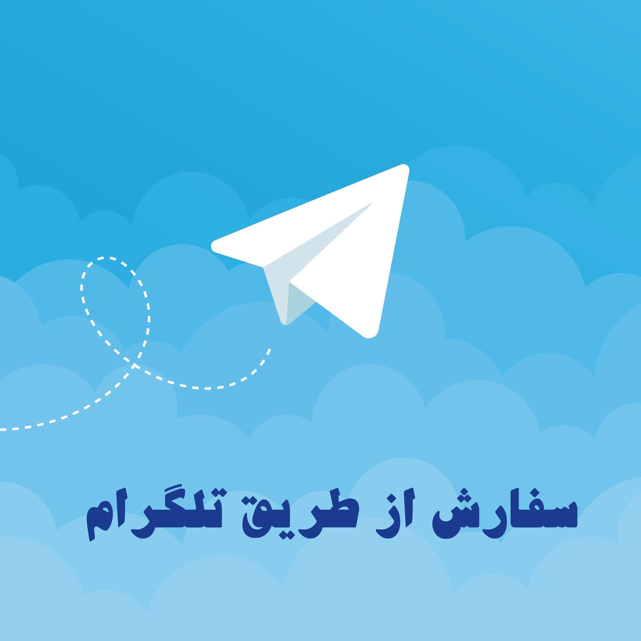 سفارش سریع پروژه با تلگرام