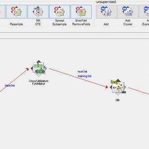 پروژه طبقه بندی اطلاعات کیفی ورشکستگی با استفاده از الگوریتم IBK در وکا