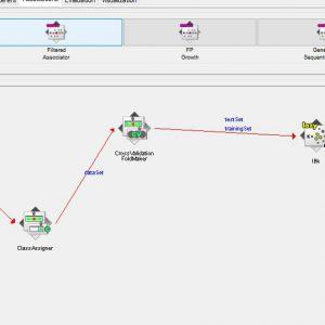 پروژه طبقه بندی جمله ها با استفاده از الگوریتم IBK در وکا