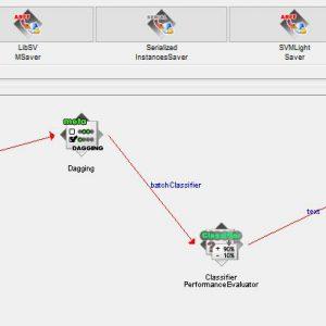 پروژه طبقه بندی مجموعه داده های پوسته های سنگی با استفاده از الگوریتم داگینگ (DOGGING) در وکا