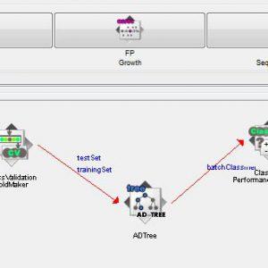 پروژه طبقه بندی مجموعه داده های قلب STATLOG با استفاده از الگوریتم درخت تصمیم ای دی (AD TREE) در وکا