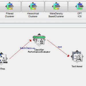 پروژه طبقه بندی مجموعه داده گسل های صفحات فولادی با استفاده از الگوریتم درخت تصمیم ای دی (AD TREE) در وکا