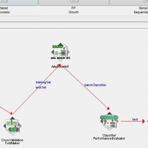 پروژه تشخیص اکوکاردیوگرام با استفاده از الگوریتم آدابوست (ADABOOST) در وکا