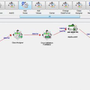 پروژه طبقه بندی مجموعه داده ارزیابی دستیار آموزش با استفاده از الگوریتم آدابوست (ADABOOST) در وکا