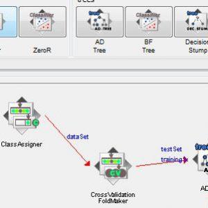 پروژه طبقه بندی اطلاعات شرکت ورشکسته لهستانی با استفاده از الگوریتم درخت تصمیم ای دی (AD TREE) در وکا