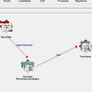 پروژه طبقه بندی لرزه خیزی با استفاده از الگوریتم شبکه های بیزین (BEYESNET) در وکا