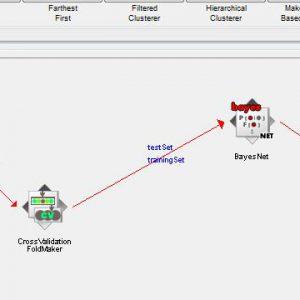 پروژه طبقه بندی جراحی قفسه سینه با استفاده از الگوریتم شبکه های بیزین (BEYESNET) در وکا