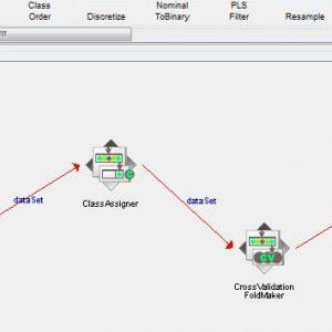 پروژه تشخیص پایه ارتباطی با استفاده از الگوریتم شبکه های بیزین (BEYESNET) در وکا