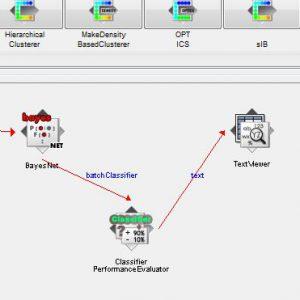پروژه طبقه بندی جداسازی فاز حرکات با استفاده از الگوریتم شبکه های بیزین (BEYESNET) در وکا
