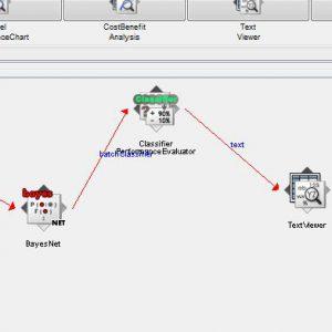 پروژه تشخیص بیماری پارکینسون با استفاده از الگوریتم شبکه های بیزین (BEYESNET) در وکا