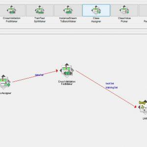 پروژه طبقه بندی مجموعه داده های شراب با استفاده از الگوریتم LWL در وکا