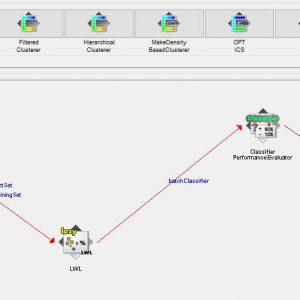 پروژه طبقه بندی سنسور گاز در زیر مخلوط گاز پویا با استفاده از الگوریتم ال دابلیو ال (LWL) در وکا