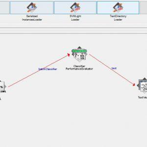 پروژه تشخیص ژن سرطان RNA-SEQ با استفاده از الگوریتم ال دابلیو ال (LWL) در وکا