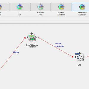 پروژه طبقه بندی MADELON با استفاده از الگوریتم جی ۴۸ (J48) در وکا