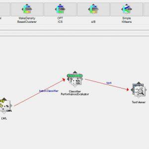 پروژه طبقه بندی خرده فروشی آنلاین با استفاده از الگوریتم LWL در وکا