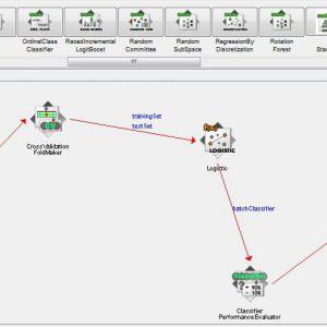 پروژه طبقه بندی مجموعه اطلاعات بیسیم داخلی محلی با استفاده از الگوریتم لوجستیک (LOGESTIC) در وکا