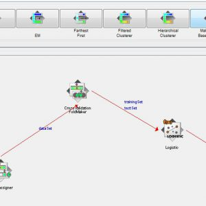 پروژه طبقه بندی مجموعه اطلاعات باغ وحش با استفاده از الگوریتم لوجستیک (LOGESTIC) در وکا