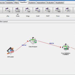 پروژه تشخیص پایه اتصال با استفاده از الگوریتم درخت تصمیم LAD در وکا