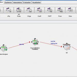پروژه پیش بینی اعتبارات با استفاده از الگوریتم درخت تصمیم ID3 در وکا